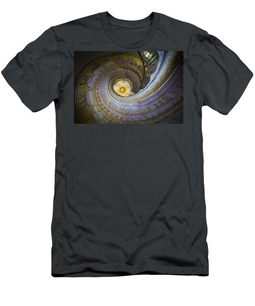 Spiral Staircase Melk Abbey I Men's T-Shirt (Athletic Fit)