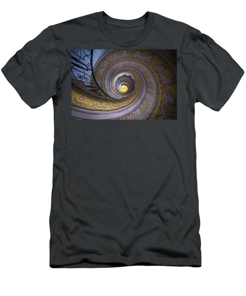 Spiral Staircase Melk Abbey IIi Men's T-Shirt (Athletic Fit)