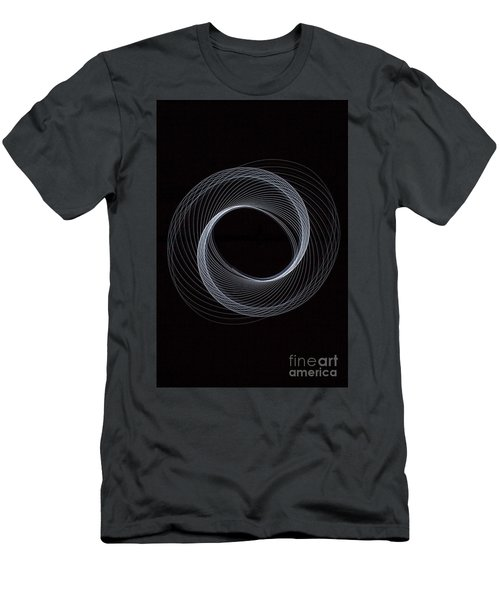 Spiral White Men's T-Shirt (Athletic Fit)