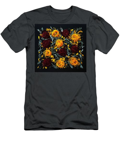 Spiralized Beets And Squash Men's T-Shirt (Athletic Fit)