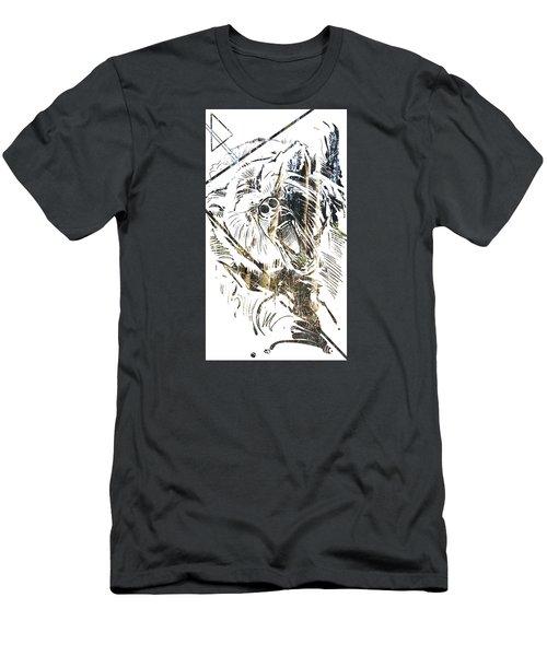 Spirit Animal . Bear Men's T-Shirt (Slim Fit) by John Jr Gholson