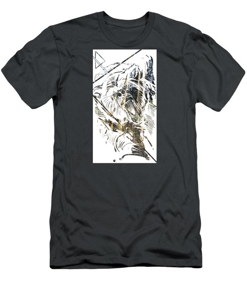 Spirit Animal . Bear Men's T-Shirt (Athletic Fit)