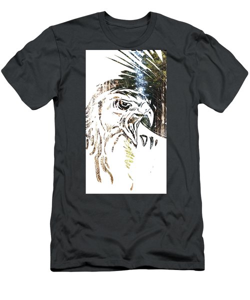 Spirit Animal . Hawk Men's T-Shirt (Athletic Fit)