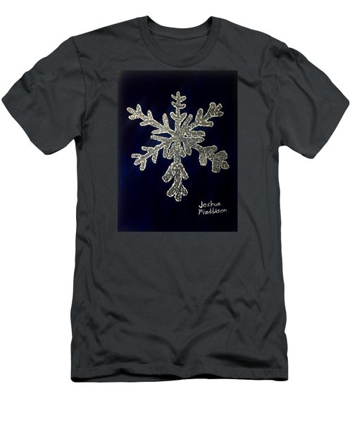 Snow Day Men's T-Shirt (Slim Fit) by Joshua Maddison