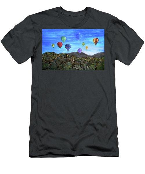 Spirit Of Boise Men's T-Shirt (Slim Fit) by Angela Stout