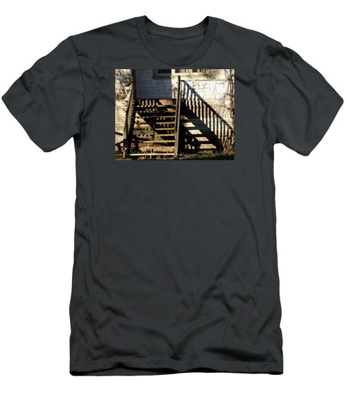 Spirit Stairs Men's T-Shirt (Slim Fit) by Brian Chase