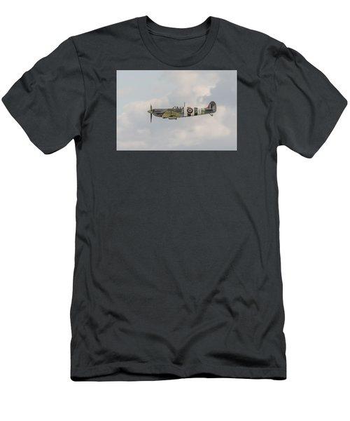 Spitfire Mk Vb Men's T-Shirt (Slim Fit) by Gary Eason