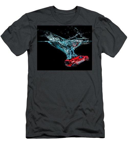 Splash Down Men's T-Shirt (Athletic Fit)