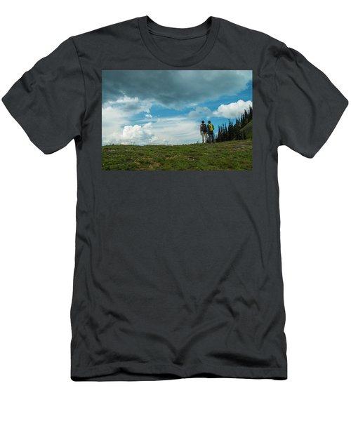 Splendid View Men's T-Shirt (Athletic Fit)