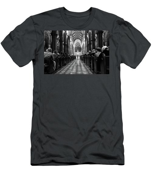 Men's T-Shirt (Athletic Fit) featuring the photograph Splendour Of Venice Concert by Miroslava Jurcik