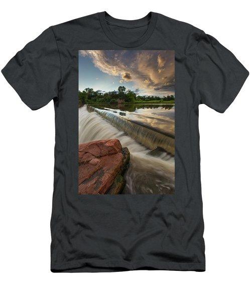 Split Rock Men's T-Shirt (Athletic Fit)