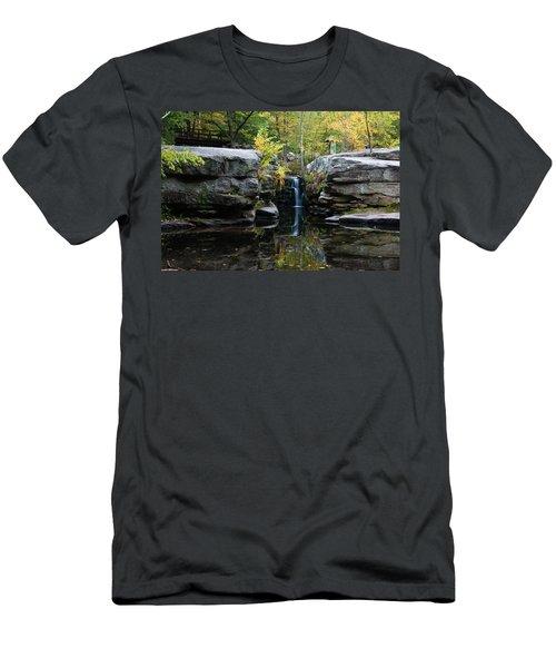 Split Rock In October #1 Men's T-Shirt (Athletic Fit)