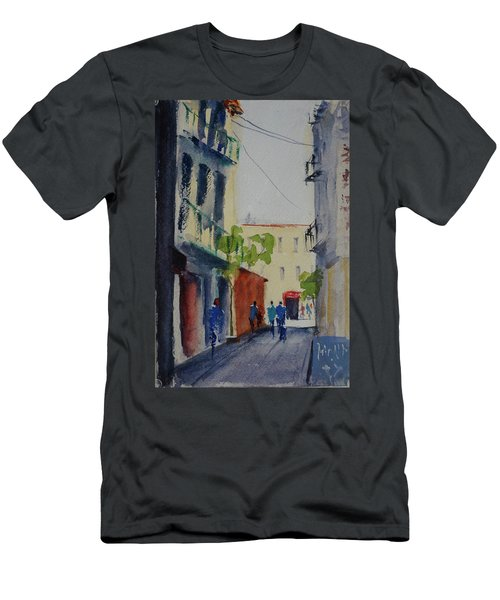 Spofford Street3 Men's T-Shirt (Athletic Fit)