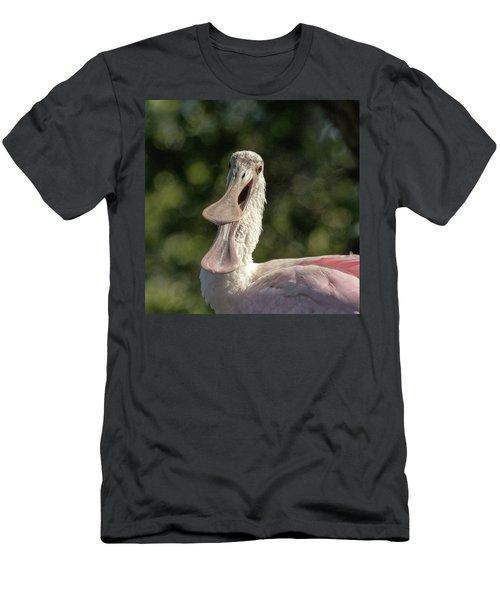 Spoonbill Talk Men's T-Shirt (Athletic Fit)