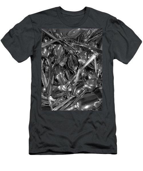 Spoons Men's T-Shirt (Slim Fit) by Henri Irizarri