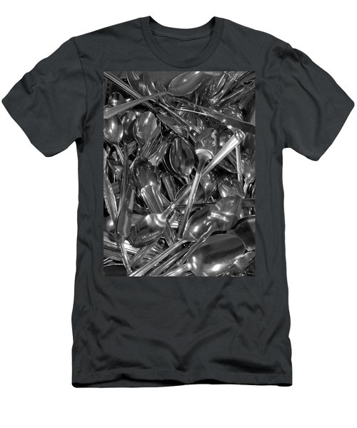 Spoons Men's T-Shirt (Athletic Fit)