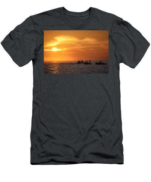 Sportfishermen Head Offshore Men's T-Shirt (Athletic Fit)
