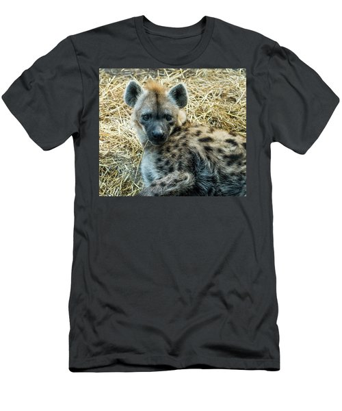 Spotted Hyena Men's T-Shirt (Athletic Fit)