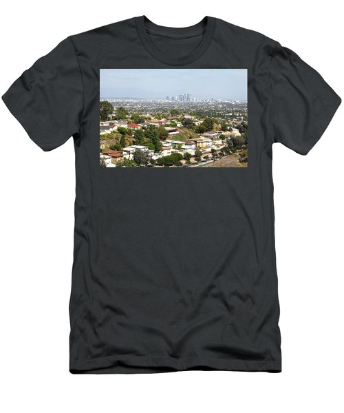 Sprawling Homes To Downtown Los Angeles Men's T-Shirt (Athletic Fit)