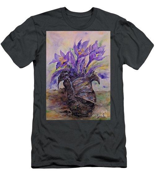 Spring In Van Gogh Shoes Men's T-Shirt (Slim Fit)