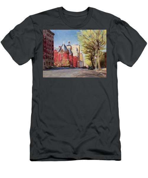 Spring Afternoon, Central Park West Men's T-Shirt (Athletic Fit)
