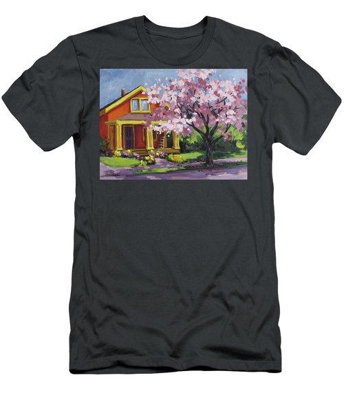 Spring At Last Men's T-Shirt (Slim Fit) by Karen Ilari