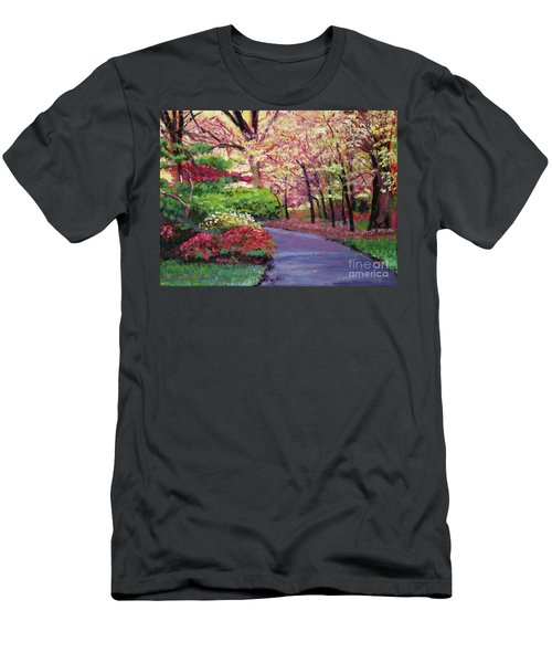Spring Blossoms Impressions Men's T-Shirt (Athletic Fit)