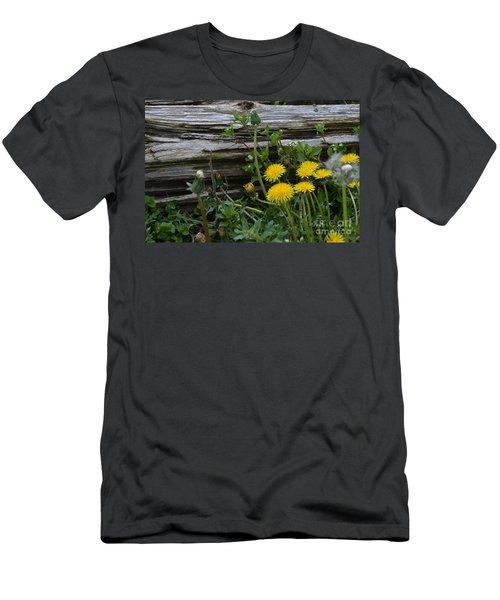 Spring Bouquet Men's T-Shirt (Slim Fit) by Renie Rutten