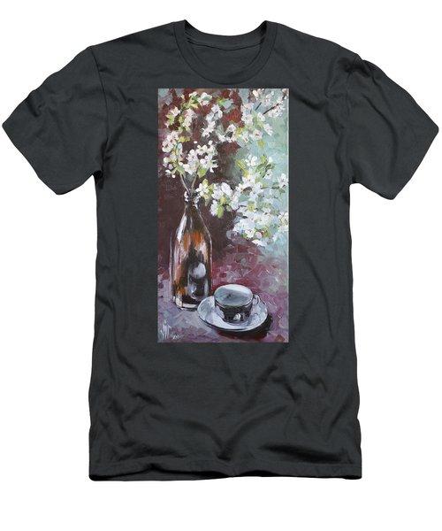 Spring Breakfast Men's T-Shirt (Slim Fit) by Vali Irina Ciobanu