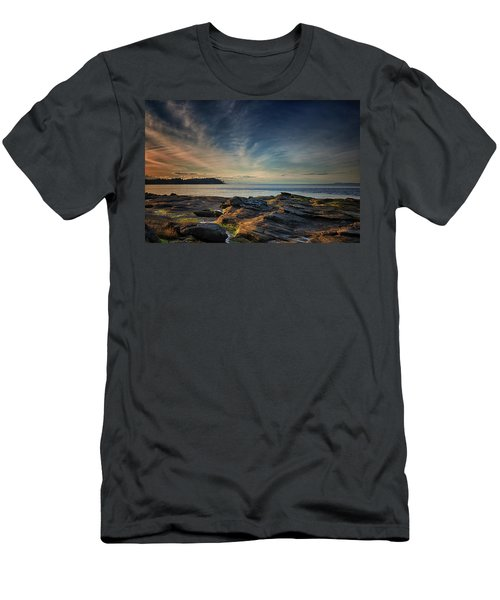Spring Evening At Madrona Men's T-Shirt (Slim Fit) by Randy Hall