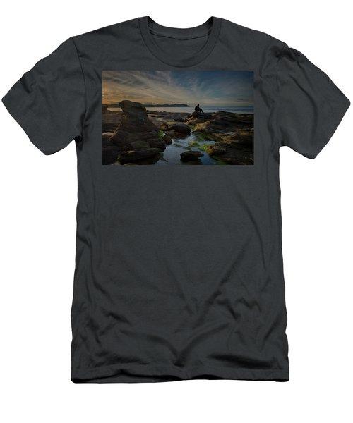 Spring Evening Men's T-Shirt (Slim Fit) by Randy Hall