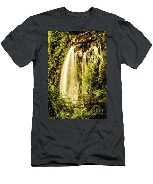 Spring Falls Men's T-Shirt (Athletic Fit)