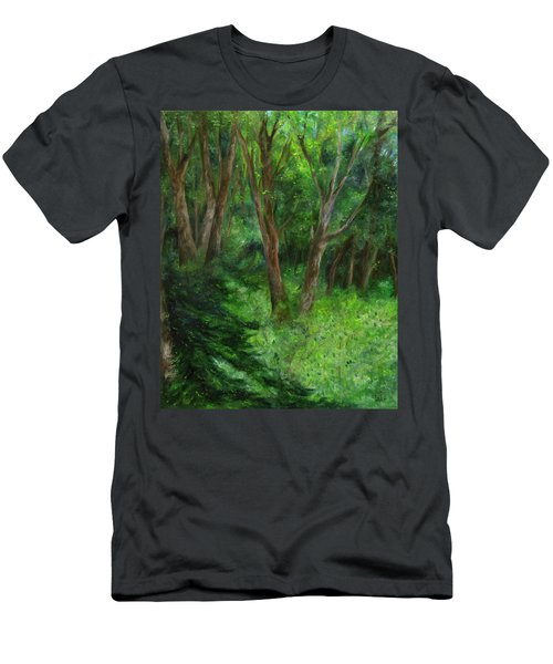 Spring In The Forest Men's T-Shirt (Athletic Fit)