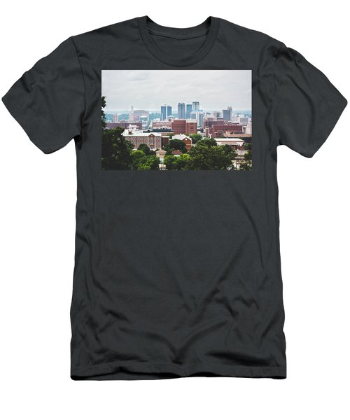 Men's T-Shirt (Slim Fit) featuring the photograph Spring In The Magic City - Birmingham by Shelby Young