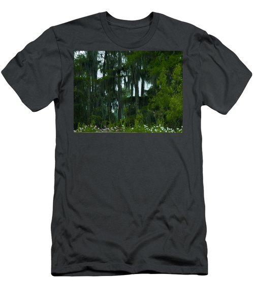 Spring In The Swamp Men's T-Shirt (Slim Fit) by Kimo Fernandez