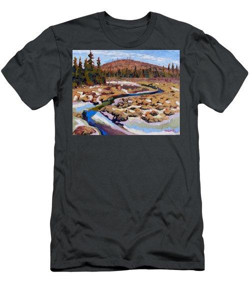Spring Marsh Algonquin Men's T-Shirt (Athletic Fit)