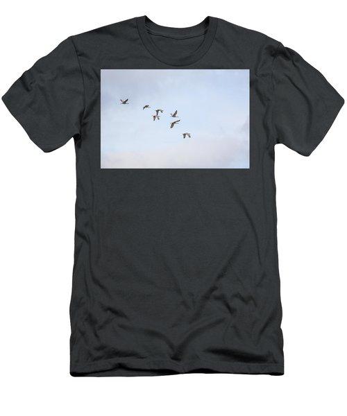 Spring Migration Men's T-Shirt (Athletic Fit)