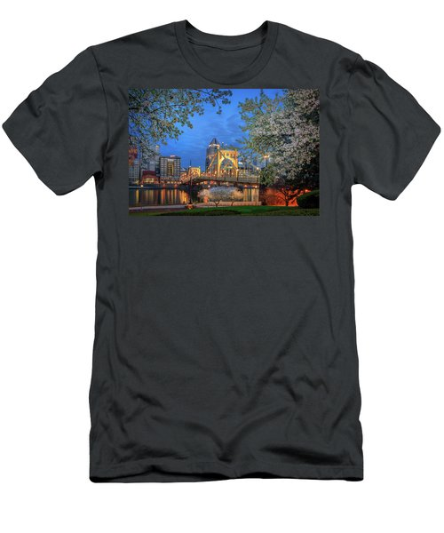 Spring  Time  Men's T-Shirt (Athletic Fit)