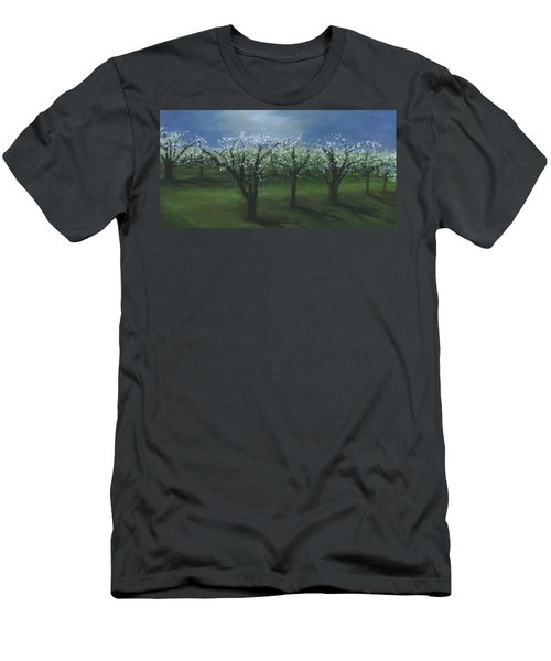 Spring Orchard Men's T-Shirt (Athletic Fit)
