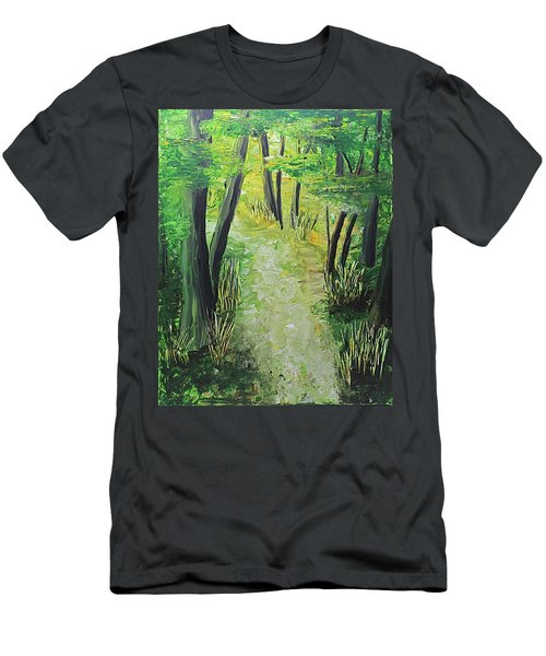 Spring Path Men's T-Shirt (Athletic Fit)