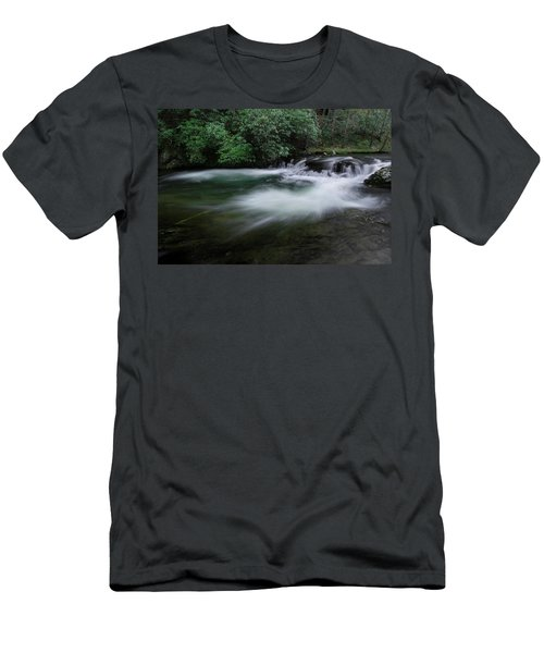 Men's T-Shirt (Slim Fit) featuring the photograph Spring River by Mike Eingle