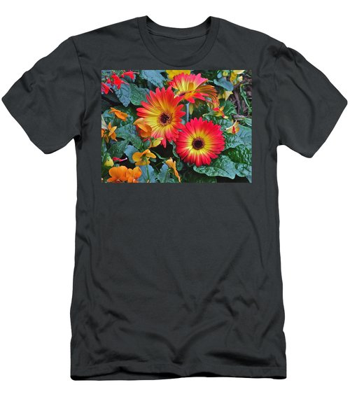 Spring Show 14 Gerbera Daisy 1 Men's T-Shirt (Athletic Fit)