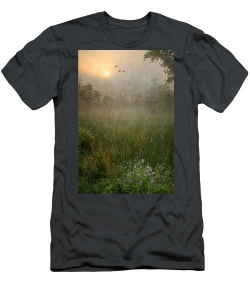 Spring Sunrise In The Valley Men's T-Shirt (Athletic Fit)