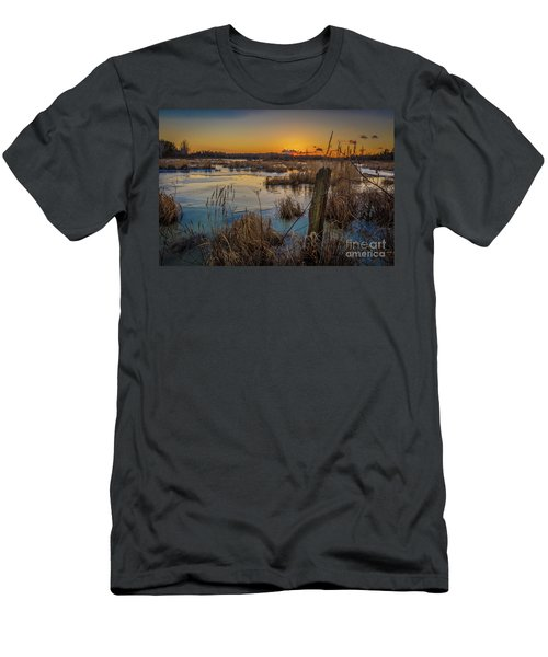 Spring Sunset Men's T-Shirt (Athletic Fit)