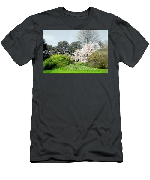 Men's T-Shirt (Slim Fit) featuring the photograph Spring Treasures by Diana Angstadt
