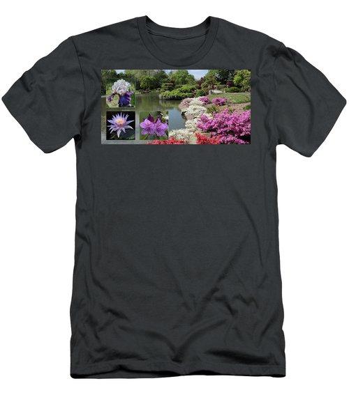 Spring Walk Men's T-Shirt (Slim Fit) by Rau Imaging