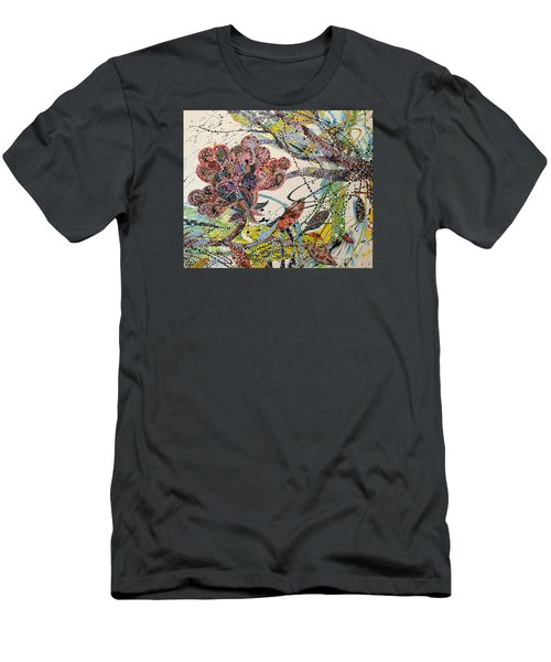 Springing Men's T-Shirt (Athletic Fit)