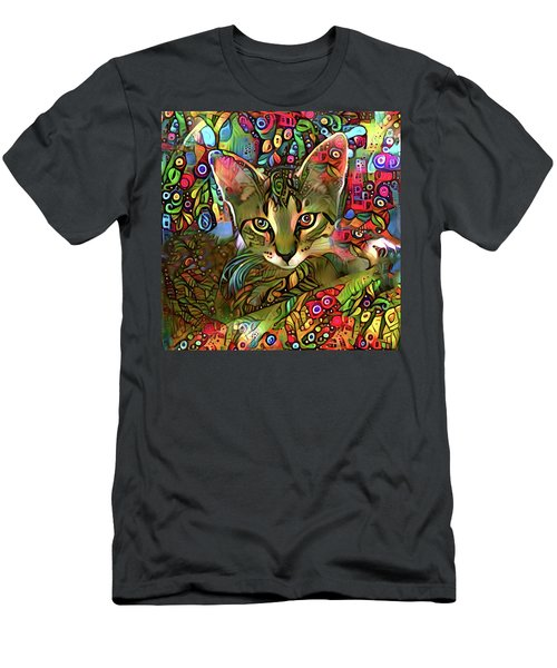 Sprocket The Tabby Kitten Men's T-Shirt (Athletic Fit)