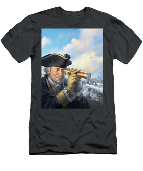 Spymaster George Men's T-Shirt (Athletic Fit)