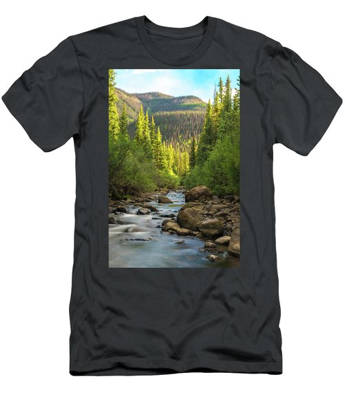 Squaw Creek, Colorado #2 Men's T-Shirt (Athletic Fit)